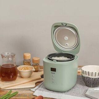 アウトレット☆ミニ電気炊飯器 BR-M250RC グリーン