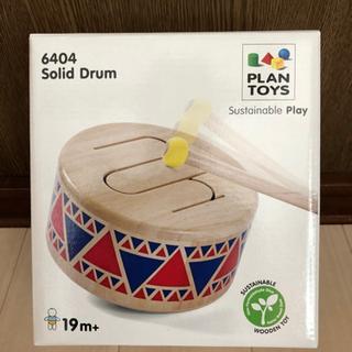 幼児用楽器、木の太鼓