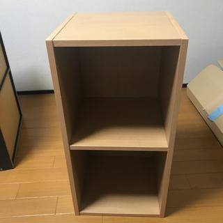 カラーボックス 2段