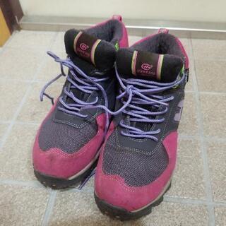 登山用の靴(22.5cm)