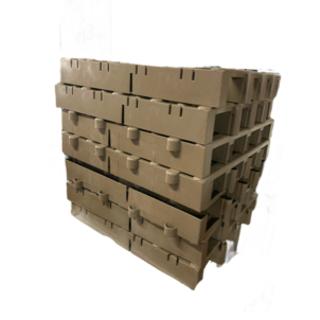 914 すのこ プラスチック 高床式スノコ ジョイントパレット 8枚セット - 家具