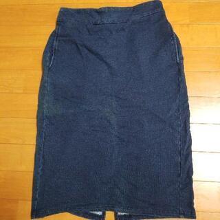 ⑮デニム風 スカート
