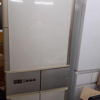 SHARP 冷凍冷蔵庫 大容量 416L 5ドア冷蔵庫 冷凍庫 ...