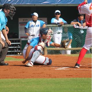 元軟式野球日本代表の野球教室
