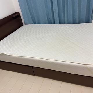 【ネット決済】【商談中】収納&コンセント付きベッドボード 18,...