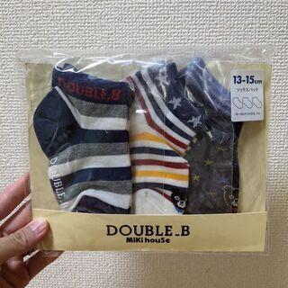 MIKIHOUSE DOUBLE_B靴下(男の子)