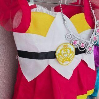 プリキュアのドレス?