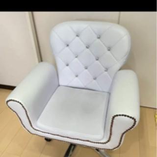 【ネット決済・配送可】ネイルチェアー ネイルサロン 椅子 イス