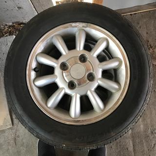 アルミ付ノーマルタイヤ 155/65R13