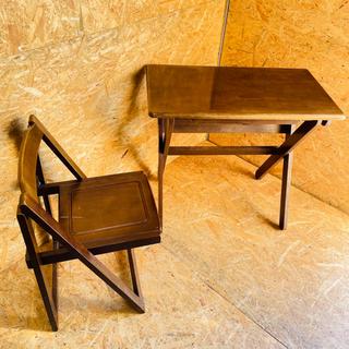 テーブル イス セット 配送室内設置可能‼︎ K09027