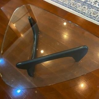 【直接取引限定】大塚家具 イサムノグチ リプロダクト ガラス テーブル