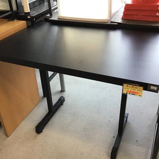 ワークデスク 机 簡易テーブル ブラック 中古品