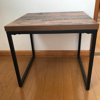 (決まりました)サイドテーブル
