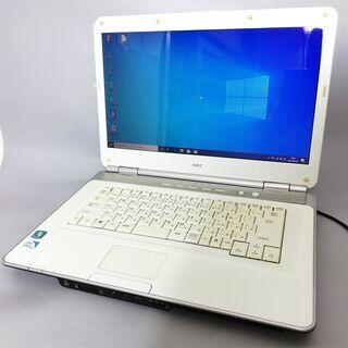 【ネット決済・配送可】即使用可能 ノートパソコン Windows...
