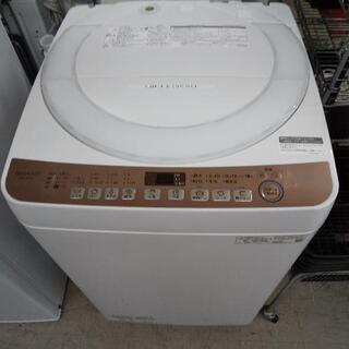 佐賀中古洗濯機シャープ2021年7Kg税込