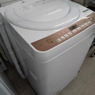 佐賀中古洗濯機シャープ2021年7Kg税込 - 佐賀市