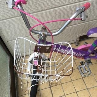 16インチ女子用自転車