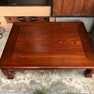 【ネット決済】木製こたつ机