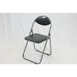 ミーティングチェア 山善 YZX-08SB 会議椅子 折りたたみ...