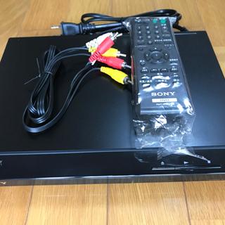 【取引完了】新同稼動品 SONY DVDプレーヤー