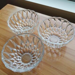 レトロガラス小鉢 3個セット