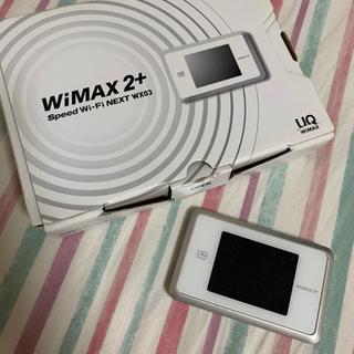 【ネット決済】WiMAX2+ WX03 ルーター本体