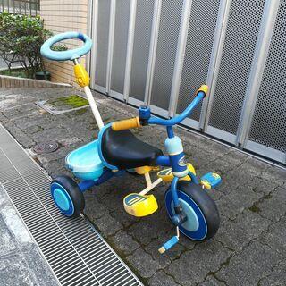 アイデス かるーくこげる三輪車 ブルー