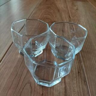 ガラス小鉢 3個セット コップも◎