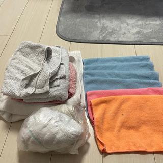 雑巾 古布 マイクロファイバータオル タオル 譲ります