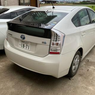 【低燃費!格安!車検長い!】プリウス 白 - トヨタ