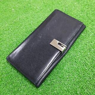 GUCCI グッチ レザー長財布 財布 ブラック イタリア製 本革