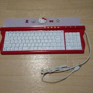 購入者決定【未使用】ハローキティ パソコン キーボードの画像