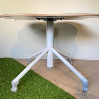 【値下げしました】テーブル(雲形,キャスター付き) - 港区