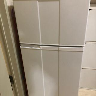 【取りに来ていただける方】単身用2ドア冷蔵庫 お譲りします