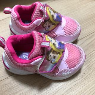 プリンセス子供靴15cm