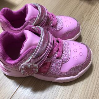 記名あり、子供用靴15cm2足