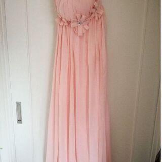 【ネット決済】ピンク ドレス(コンサート、ウェディングに)