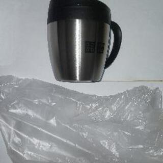 ユニクロステンレスマグカップ未使用