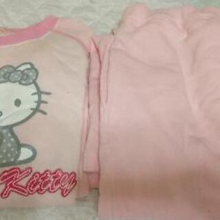キティちゃん長袖パジャマ