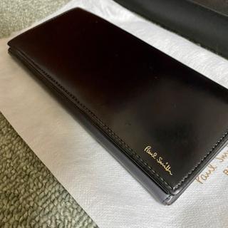 【ネット決済・配送可】PaulSmith コードバン 長財布