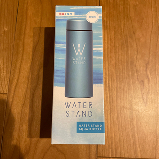 【新品未使用】メタリック真空スリムマグボトル300ml/ブルー
