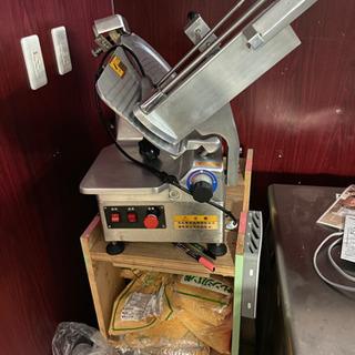 全自動冷凍肉スライサー