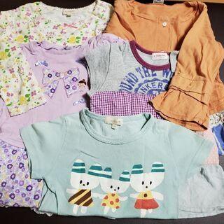 女児服(長袖・半袖) 100