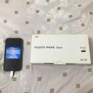 【ネット決済】AQUOS SHL22 スマートフォン