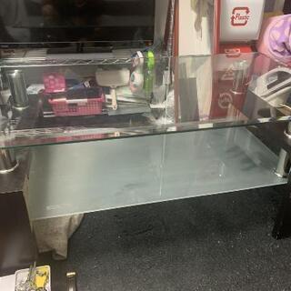 【ネット決済】ガラスのテーブル