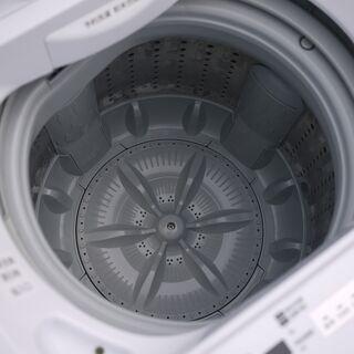 美品 20年製 東芝 4.5kg 全自動洗濯機 AW-45M7-W ピュアホワイト ステンレス槽 つけおきコース搭載 − 神奈川県