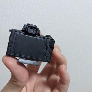 カメラのフィギアの画像