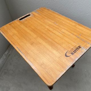 使い古したアウトドア用ローテーブル【2個セット】 - 名護市