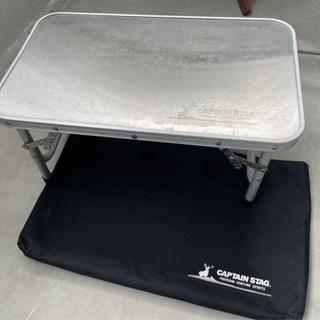 使い古したアウトドア用ローテーブル【2個セット】 − 沖縄県