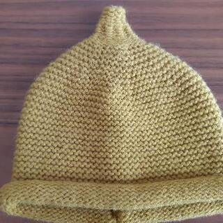 【ベビー帽子】サイズ48cm